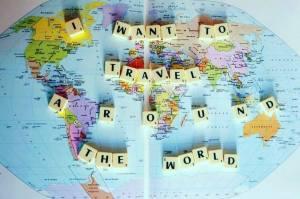 Quiero viajar alrededor del mundo!